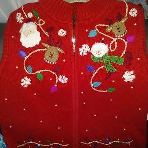 Limited Edition Women' Festive Christmas Vest